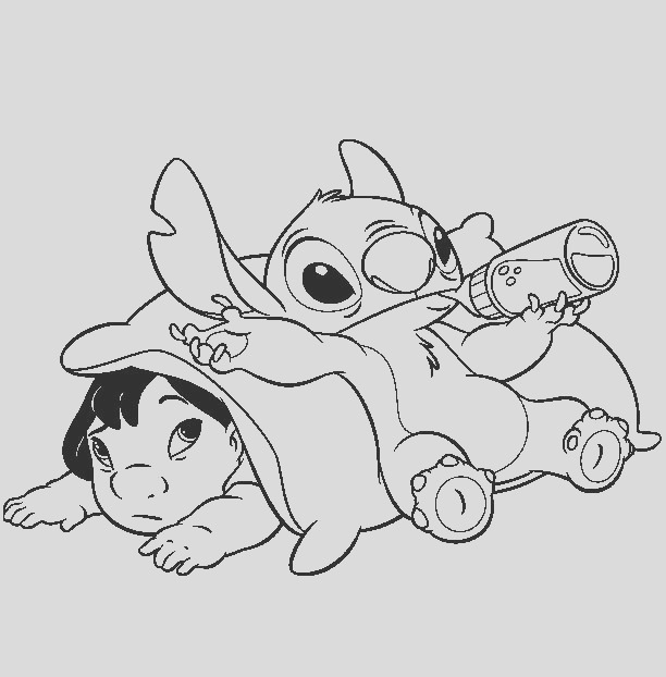 lilo stitch coloring pages