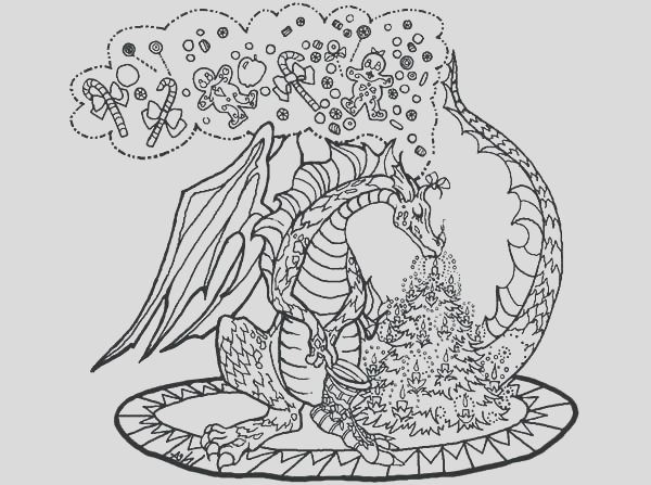 hard dragon coloring pages