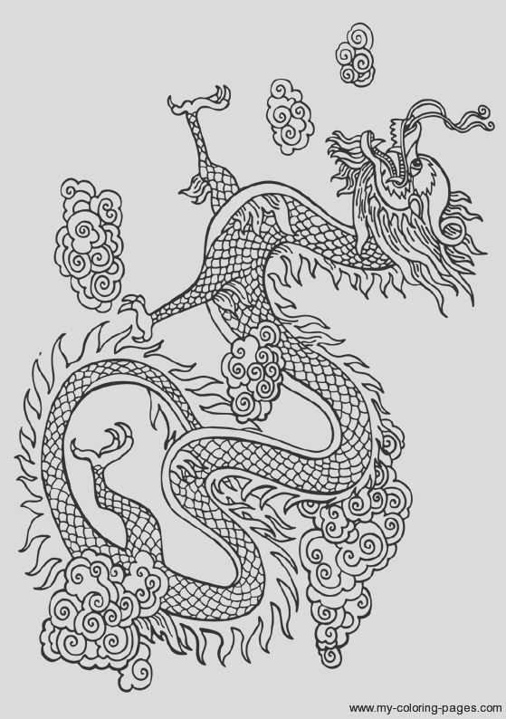 plex dragon coloring pages