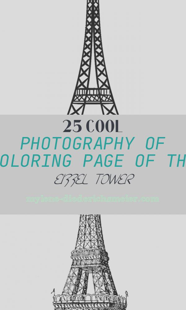 Coloring Page Of the Eiffel tower Awesome Printable Eiffel tower Coloring Pages for Kids