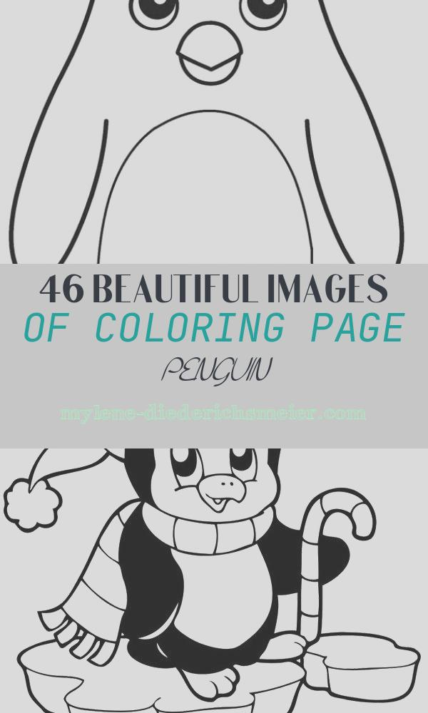Coloring Page Penguin New Printable Penguin Coloring Pages for Kids