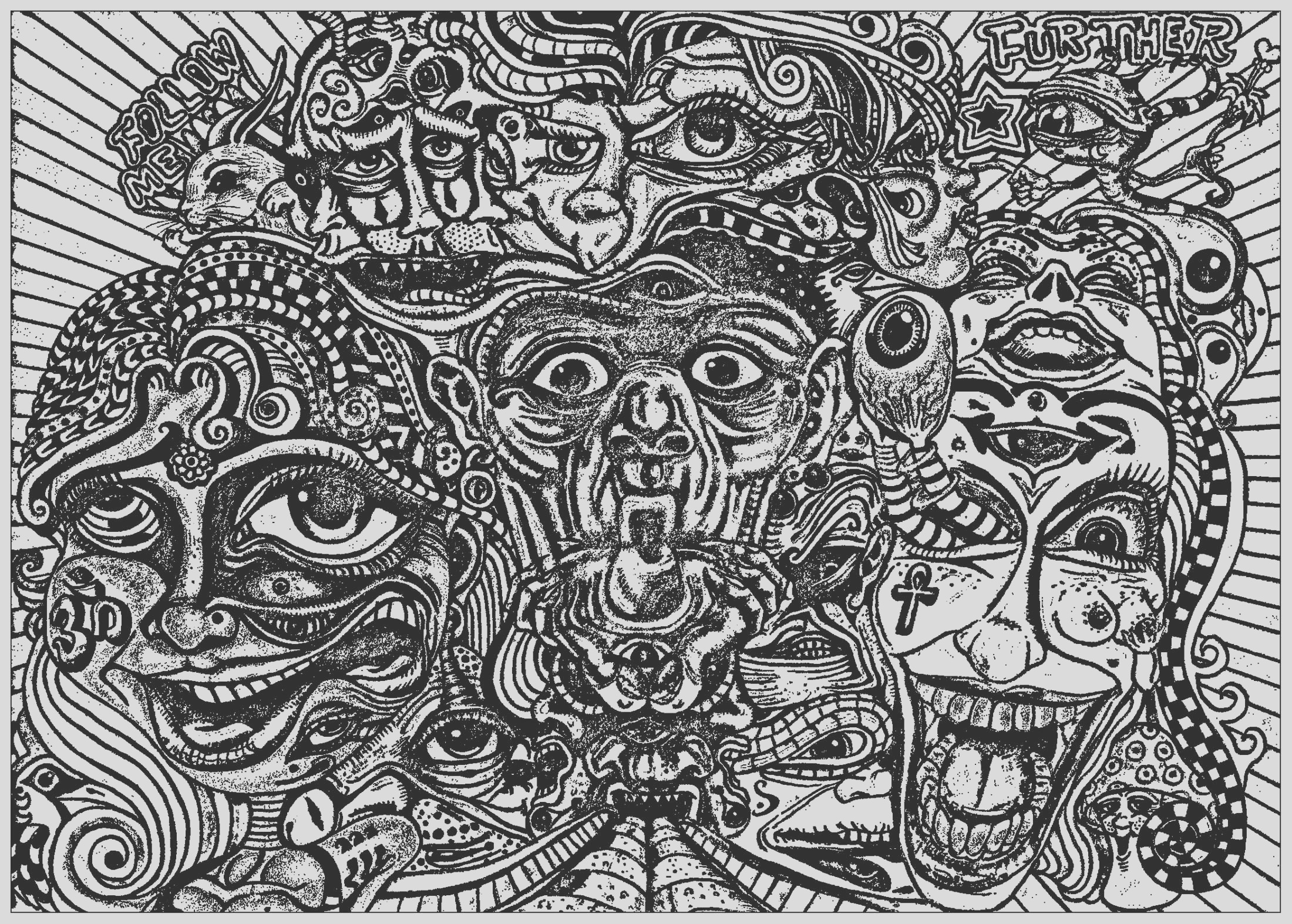 image=psychedelic coloring page psychedelic faces 1