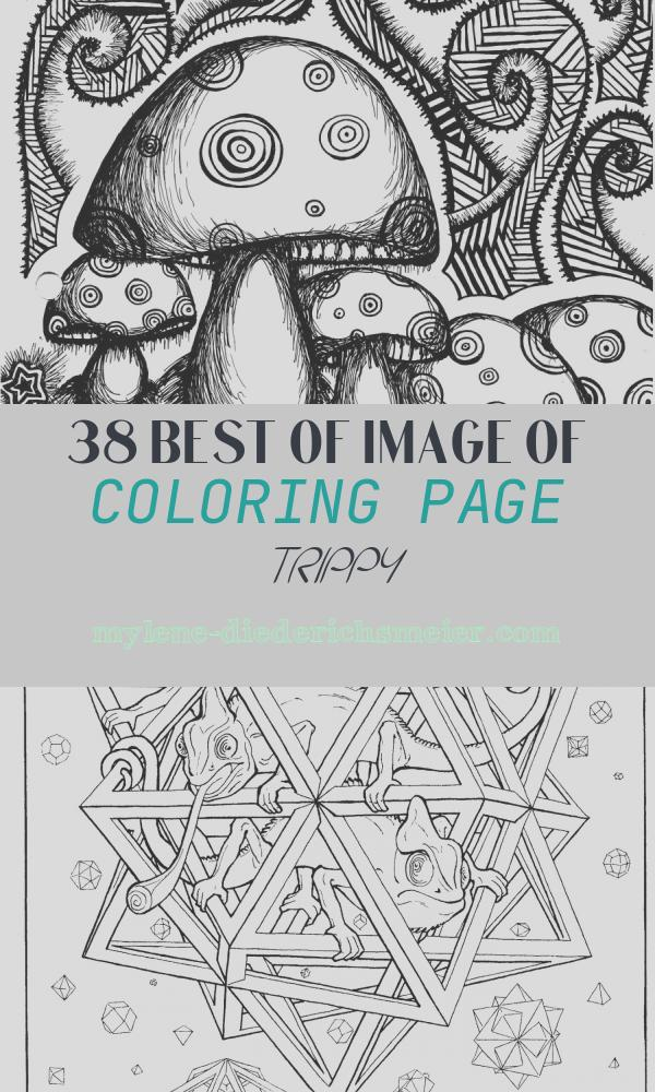 Coloring Page Trippy Best Of 50 Trippy Coloring Pages