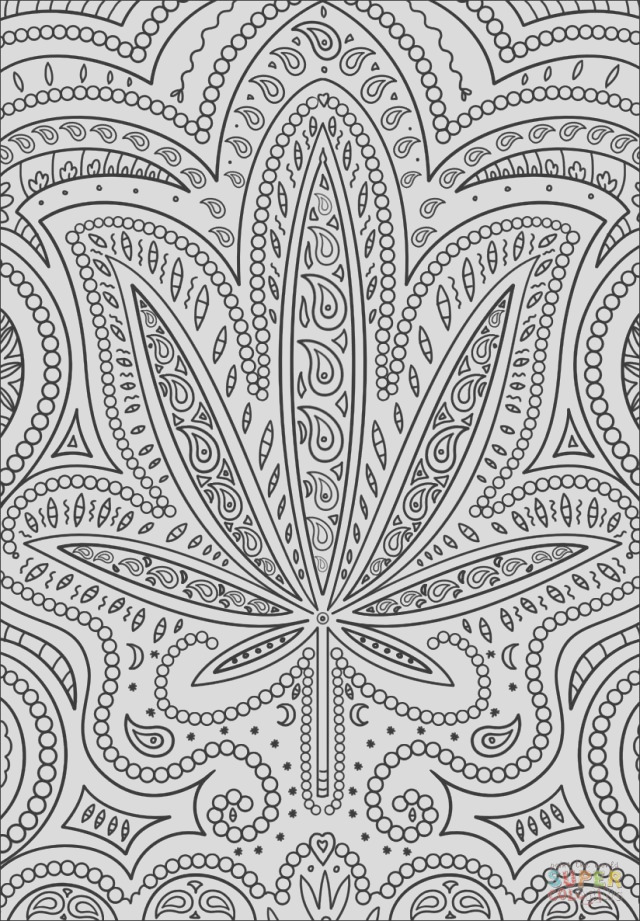 25 awesome photo of weed coloring pages