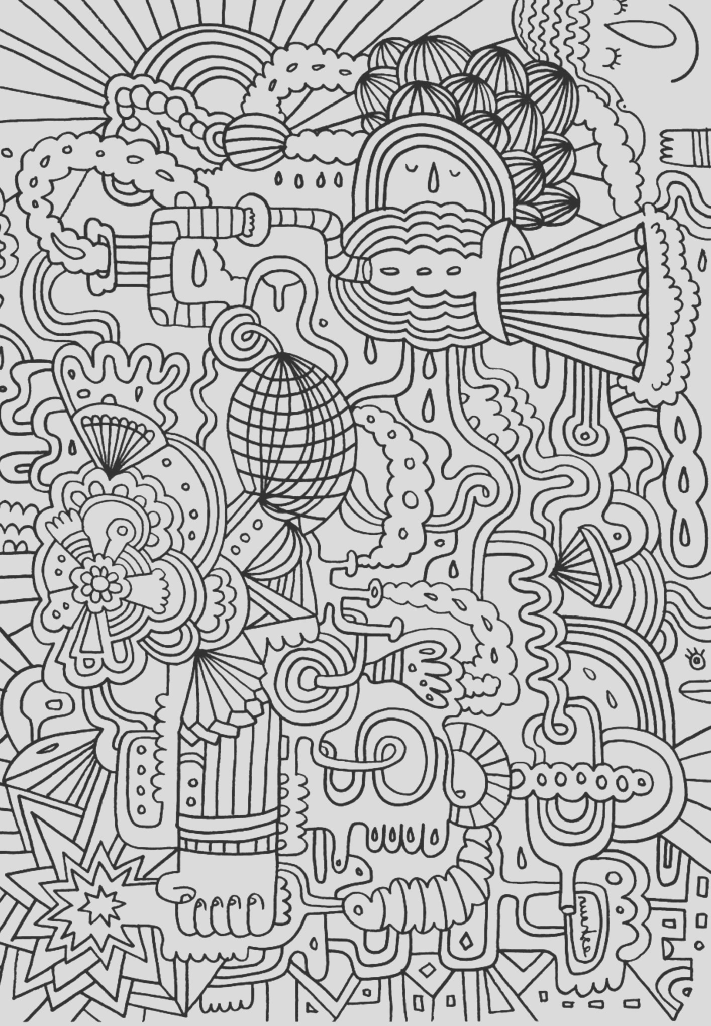 plex coloring pages for teens and adults