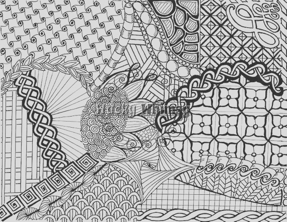 coloring page instant adults