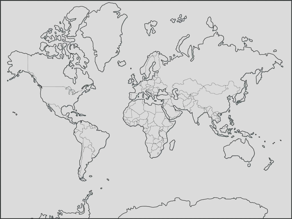 seven continents coloring page