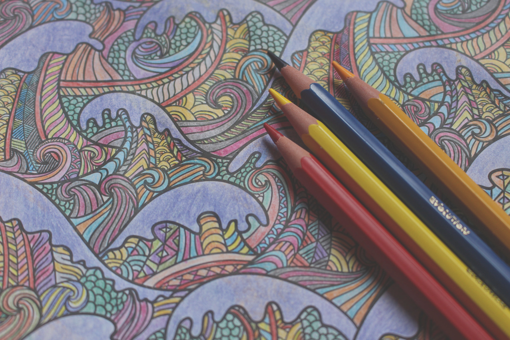 therapeutic science adult coloring books how childhood pastime helps adults