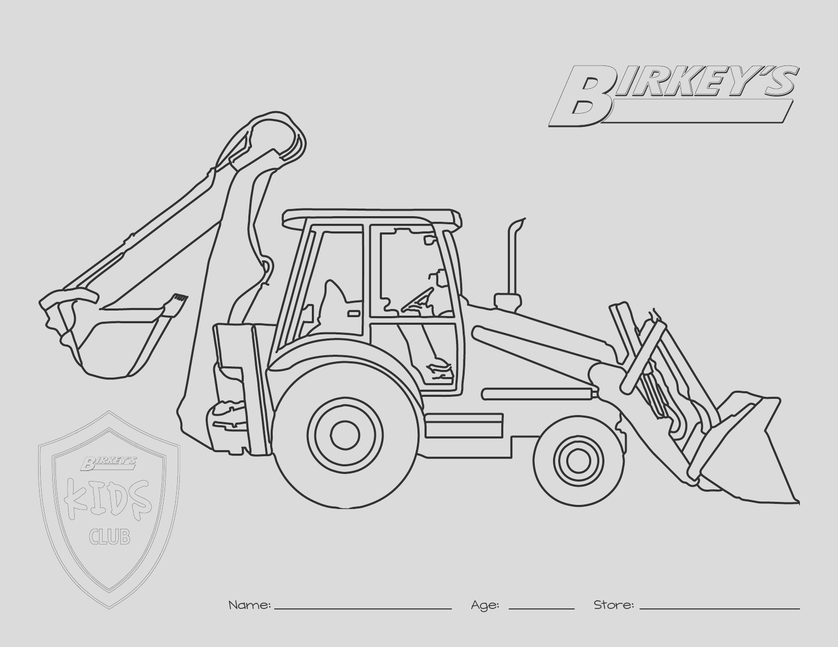 bine harvester coloring pages