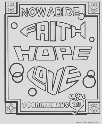 bible coloring pages for teens