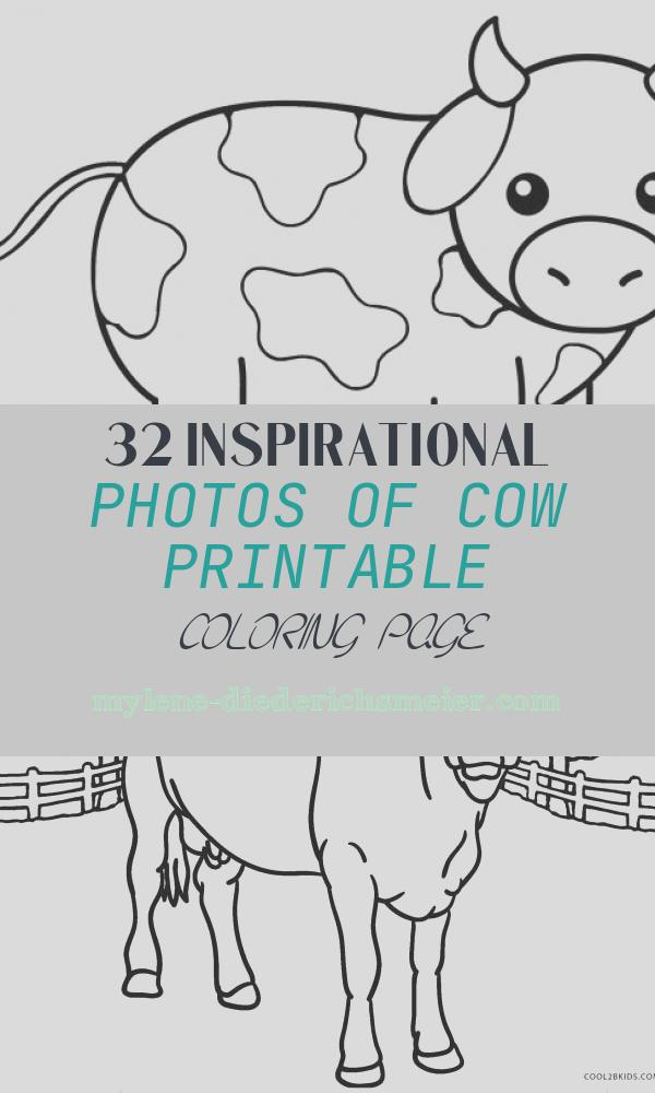Cow Printable Coloring Page Beautiful Free Printable Cow Coloring Pages for Kids