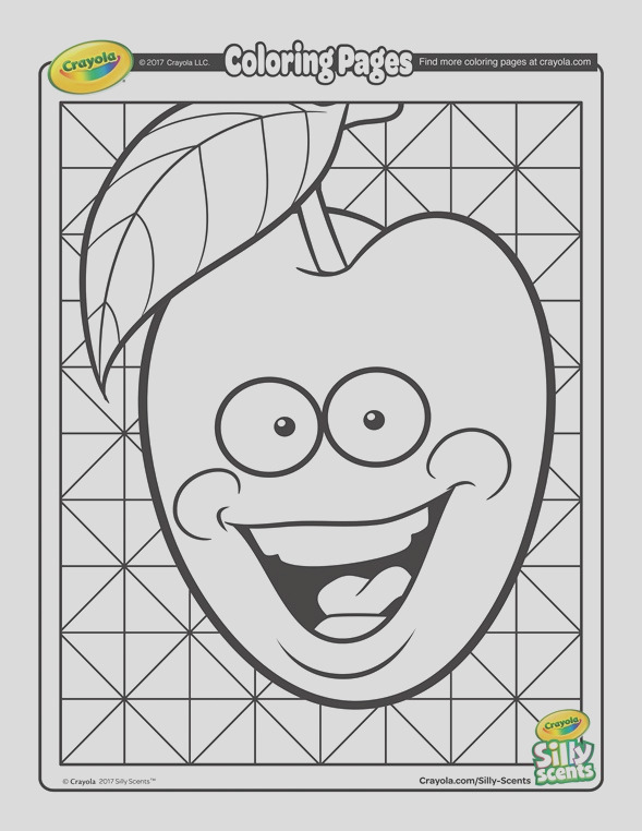 silly scents cherry coloring page