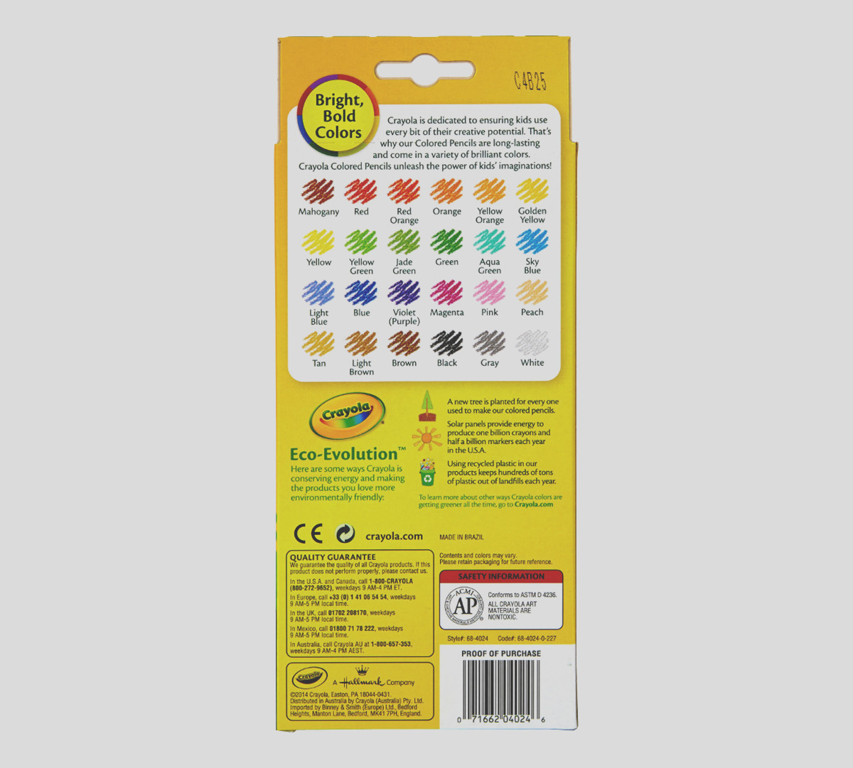 colored pencils 24 count