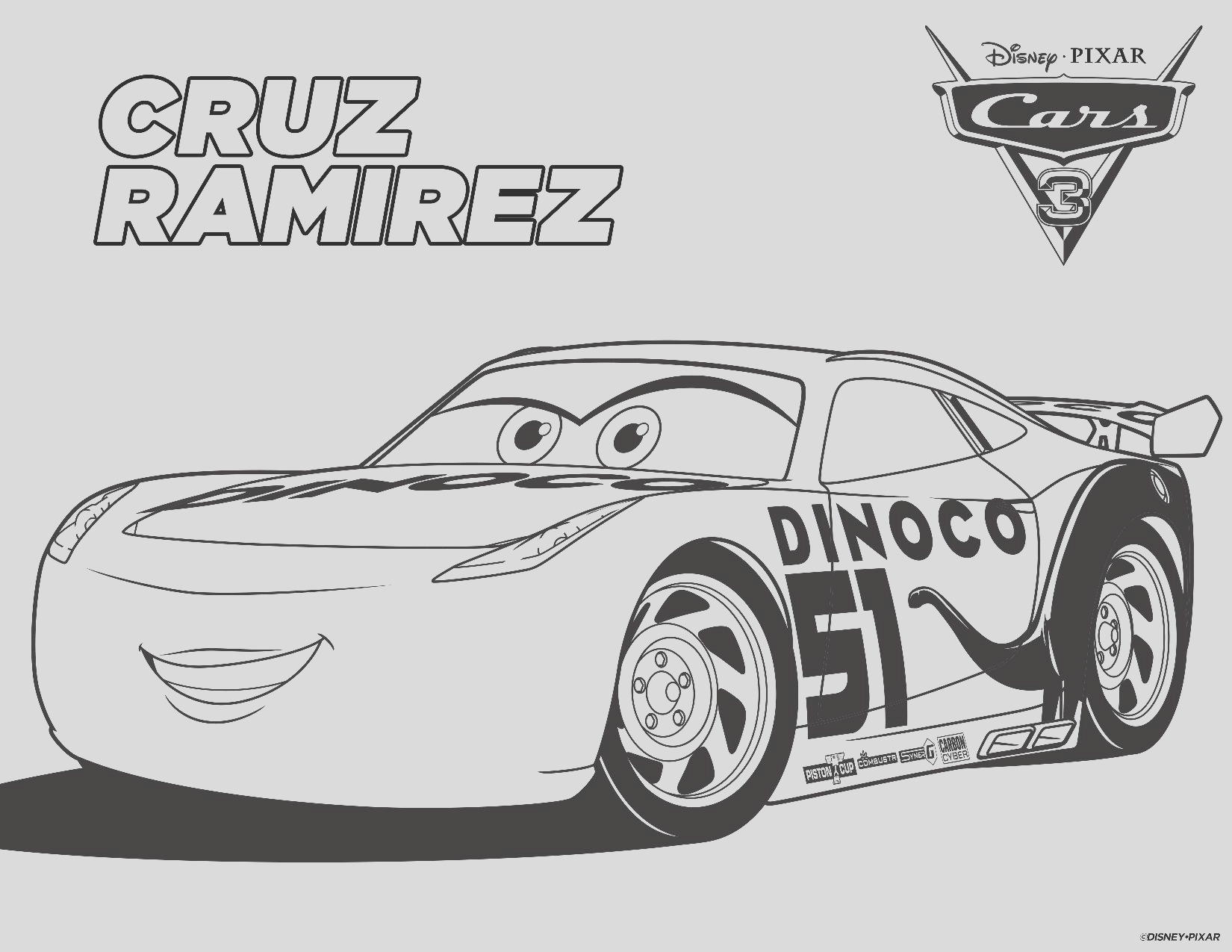 free printable cars 3 coloring pages games cars3