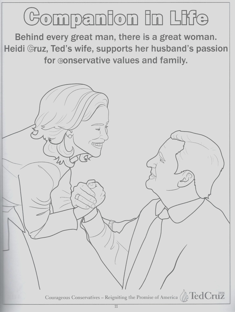 we review ted cruzs utterly ridiculous childrens coloring book