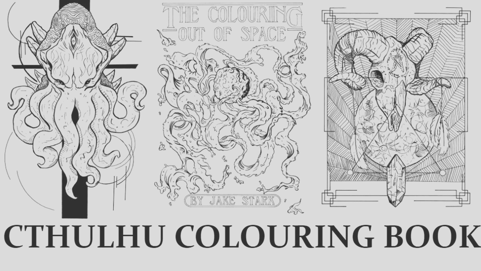 the colouring out space lovecraftian colouring boo