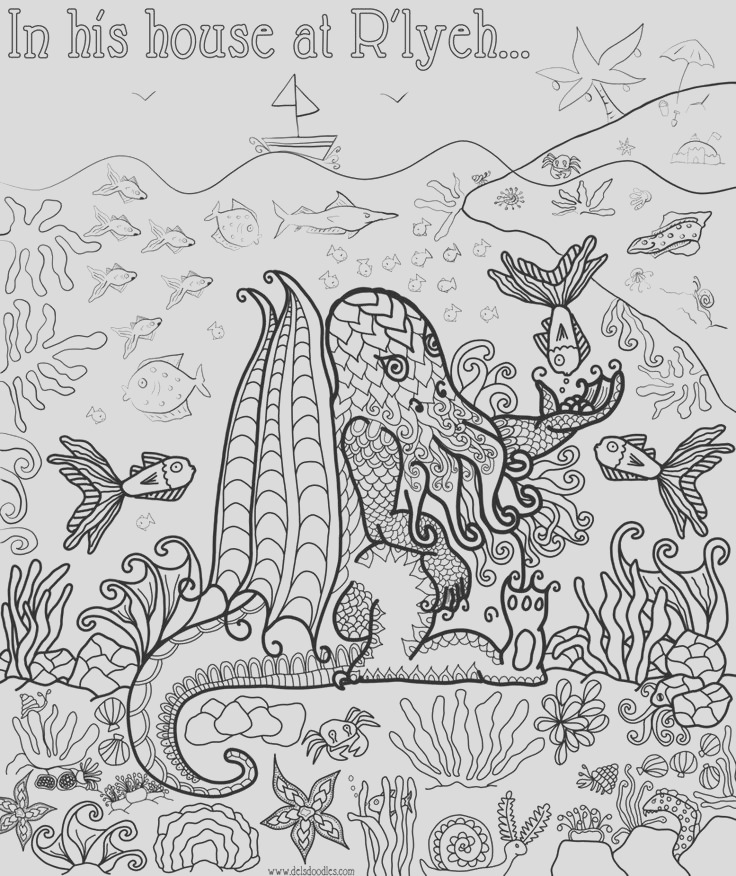 coloring pages to print underwater