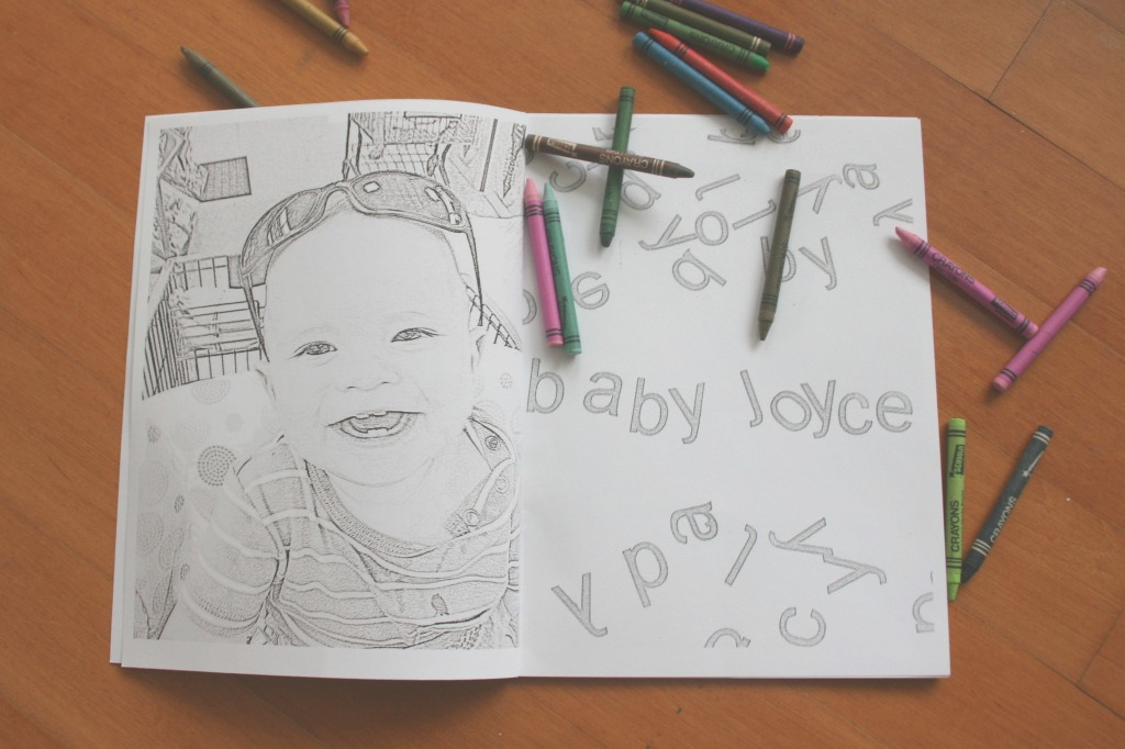 personalized coloring book coloring pictures