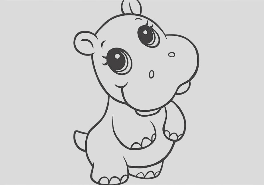 25 cute baby animal coloring pages ideas