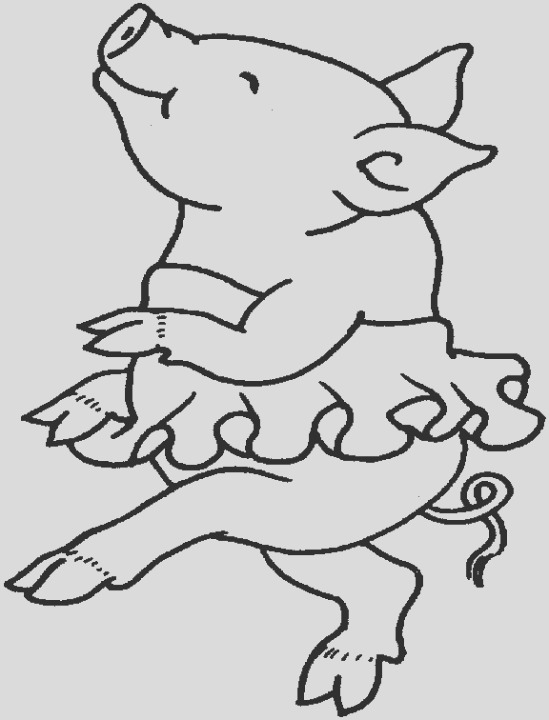 cute pig coloring pages 7j3m1