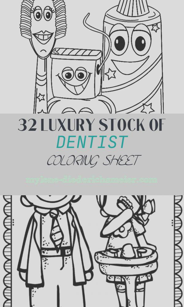 Dentist Coloring Sheet Best Of Munity Helpers and People Coloring Pages Momjunction
