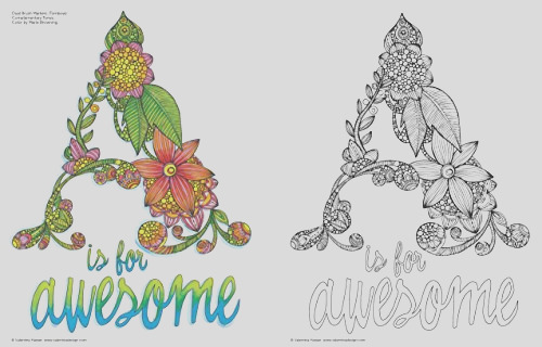 creative coloring inspirations art activity pages to relax and enjoy