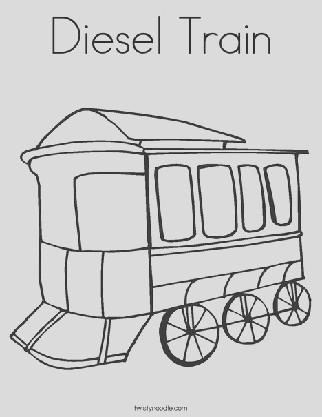 sel train coloring page