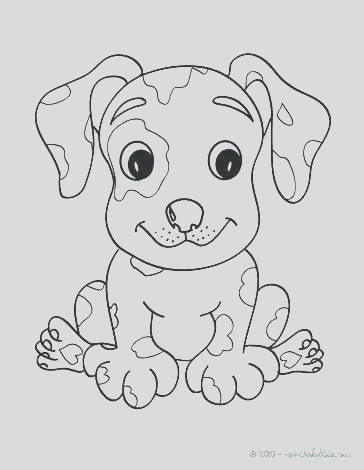 dog paw print coloring page