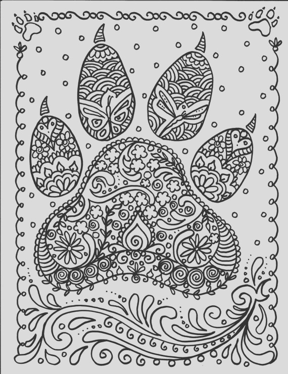 instant dog paw print you be