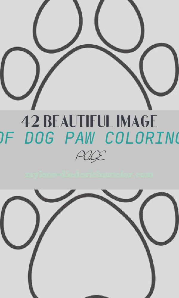 Dog Paw Coloring Page Lovely Dog Paw Heart Clip Art