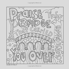 coloring pages sayings