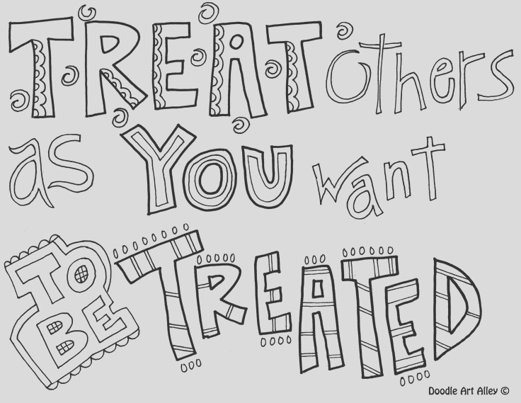 quotes coloring pages doodle art alley sketch templates