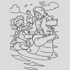 dragon tales coloring pages your toddler will love