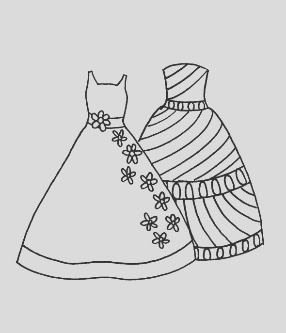 free fashion coloring pages