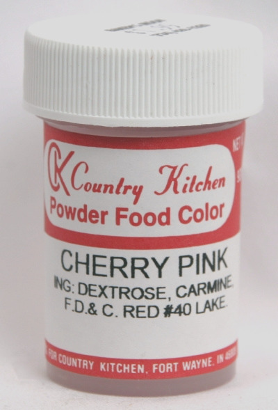 472 cherry pink powdered food coloring