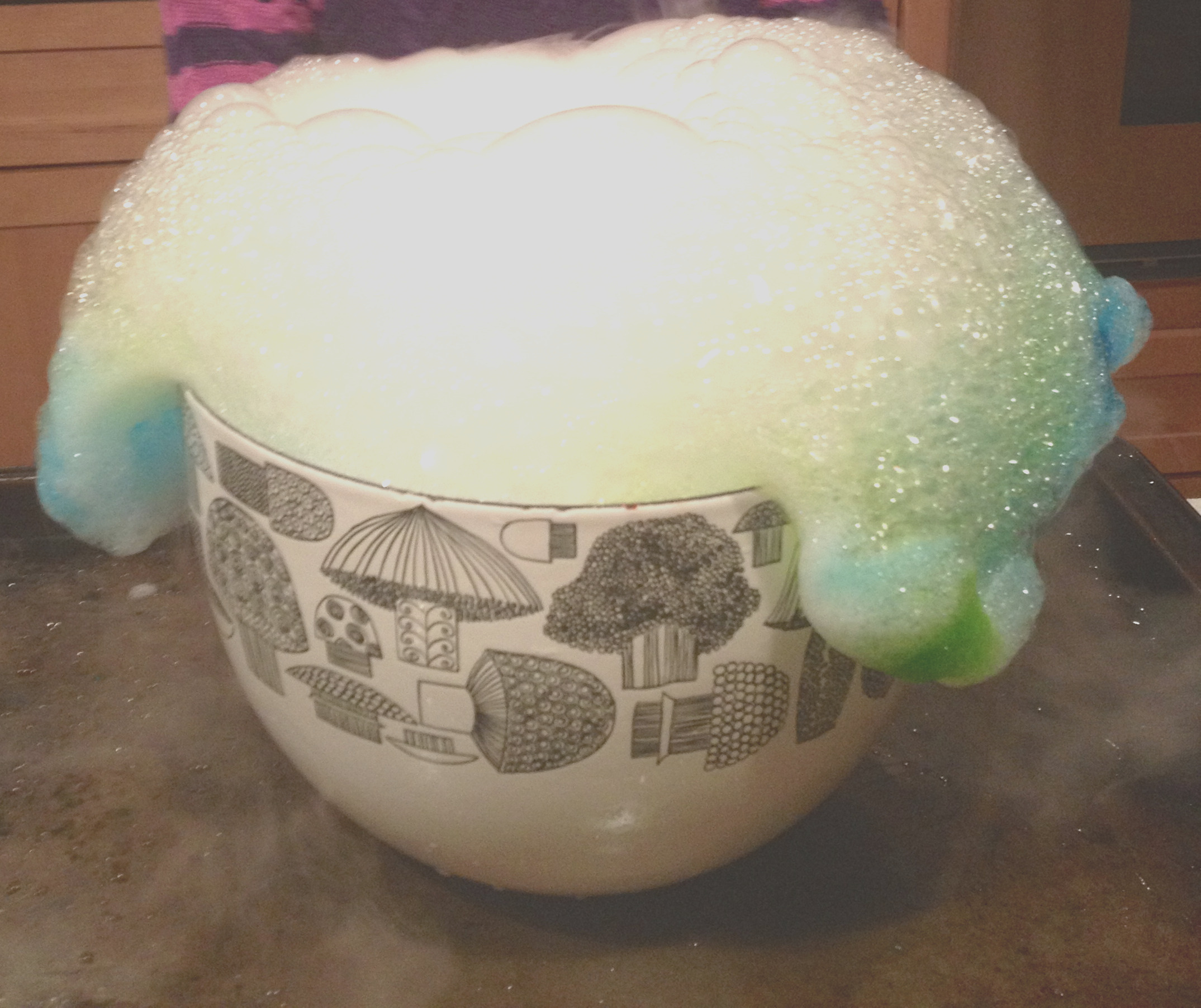 can you cook with dry ice