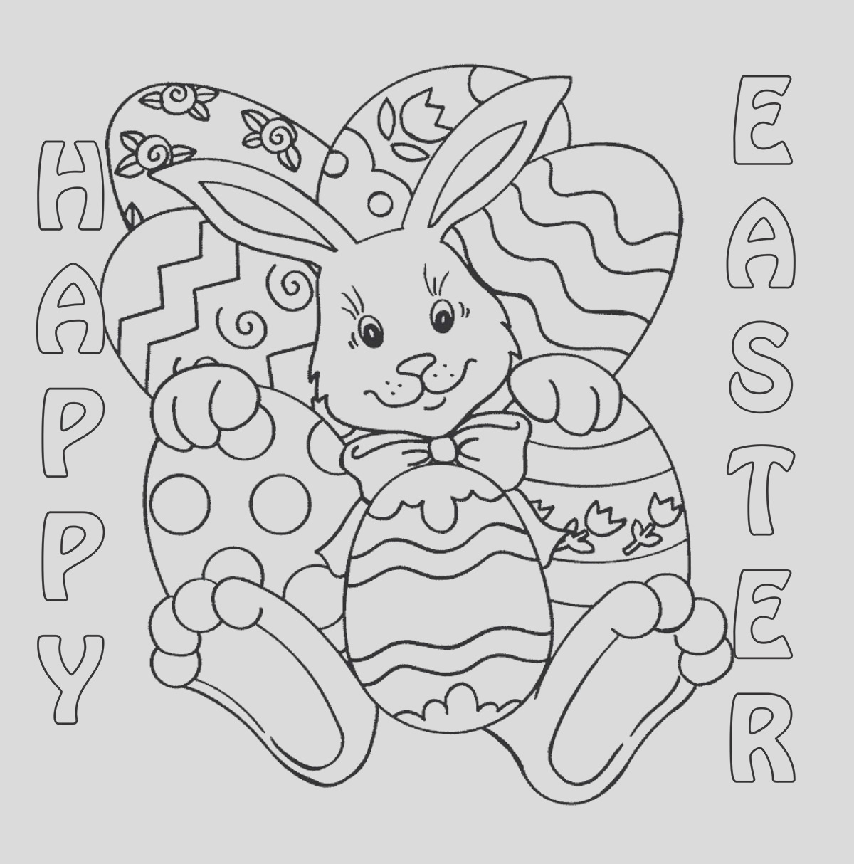 easter coloring contest 2014