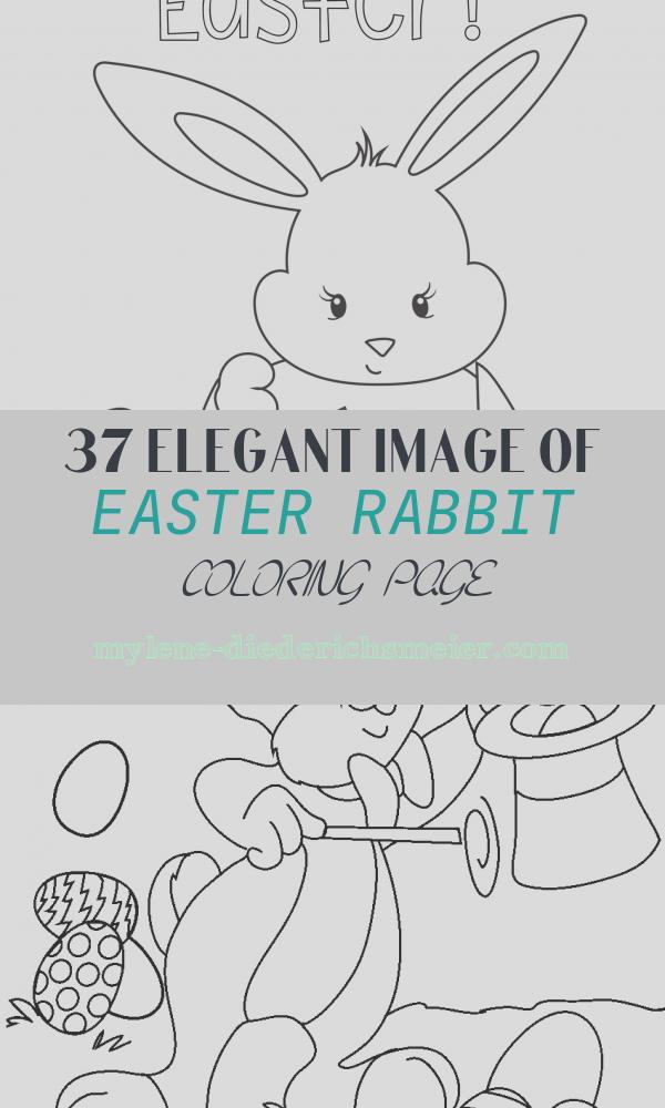 Easter Rabbit Coloring Page Luxury Easter Coloring Pages Crazy Little Projects