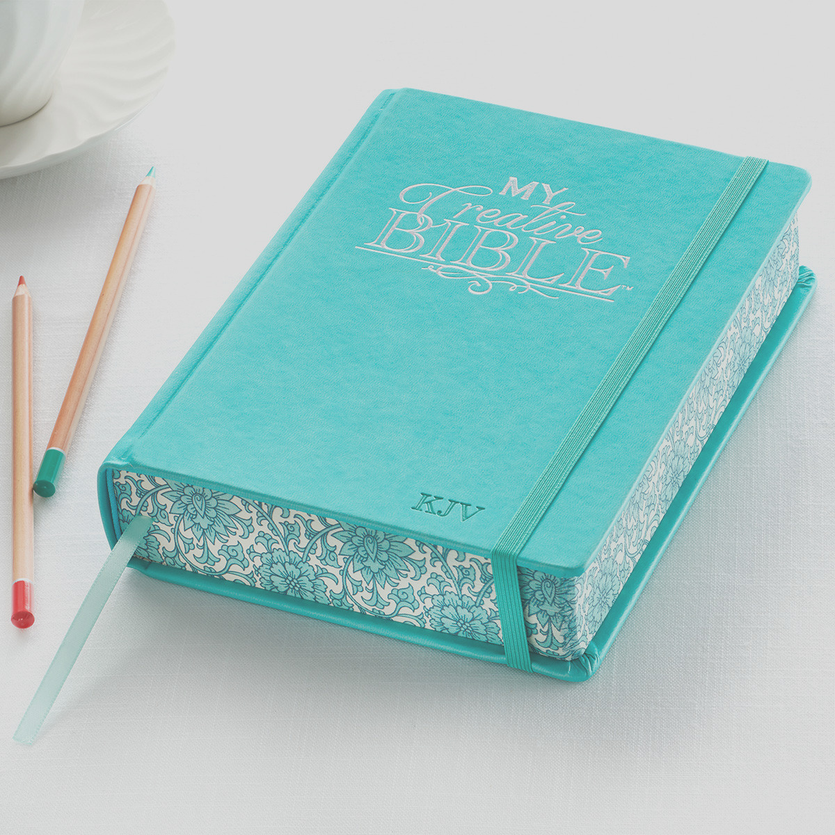 KJV HC LL My Creative Bible Teal