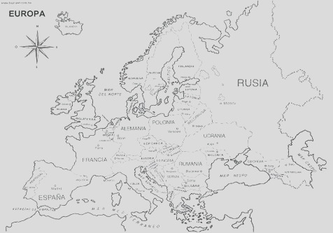 map coloring pages for kids