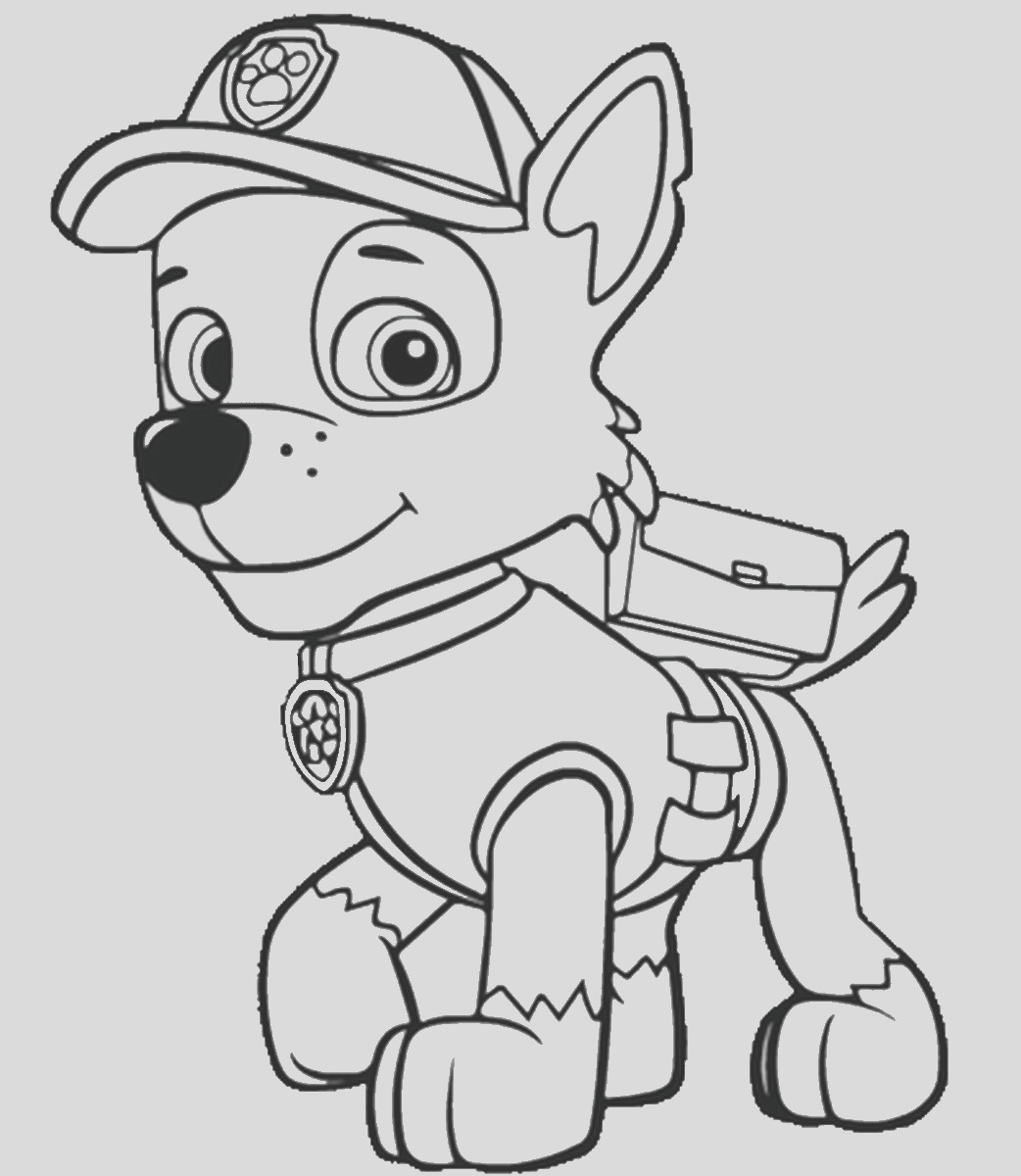 paw patrol drawing
