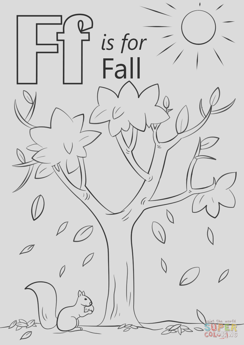 letter f is for fall