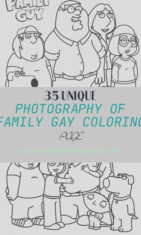 Family Gay Coloring Page Lovely Printable Family Guy Coloring Pages for Kids