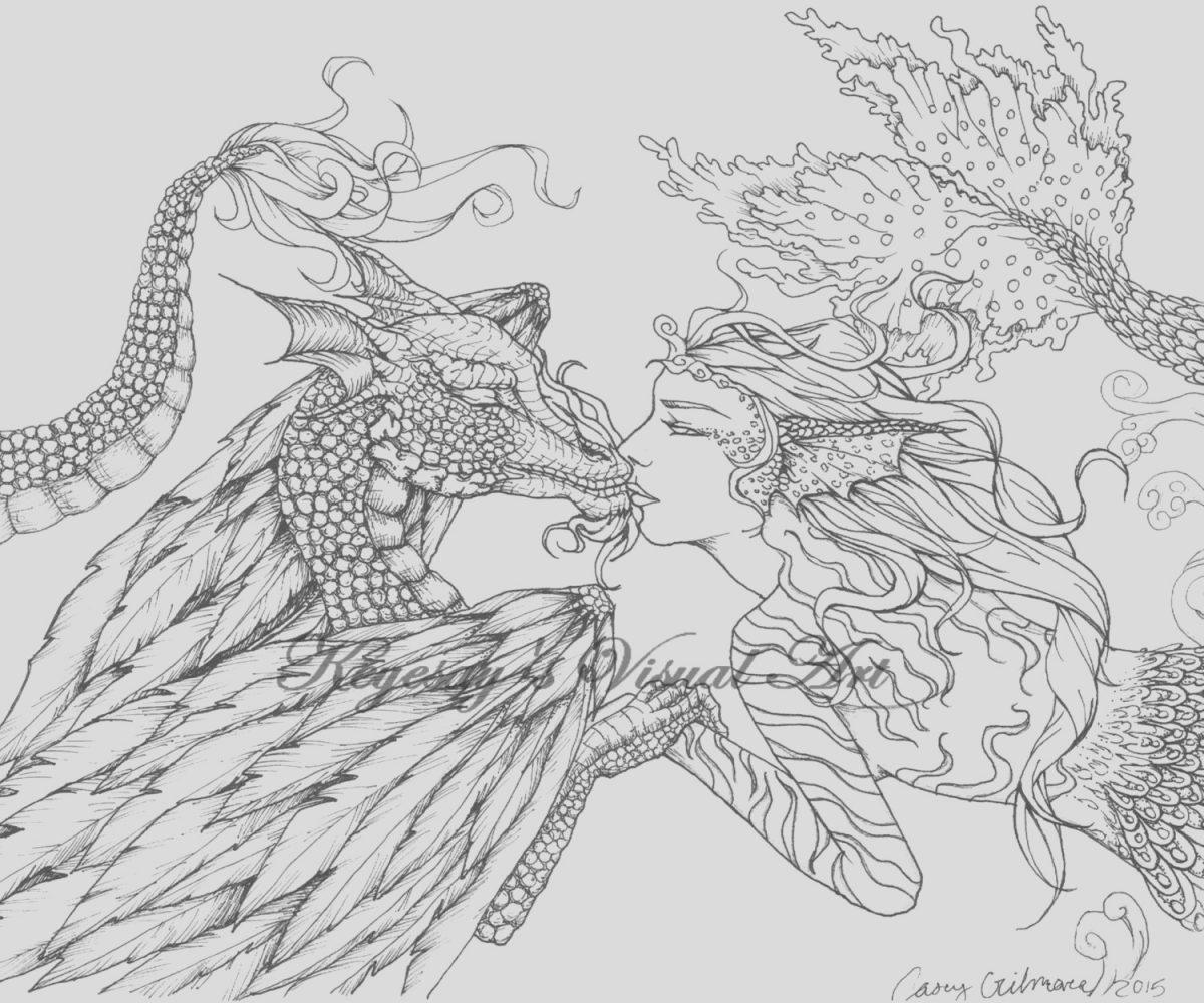 Fantasy Coloring Page for Adults Luxury Adult Fantasy Colouring Pictures Google Search
