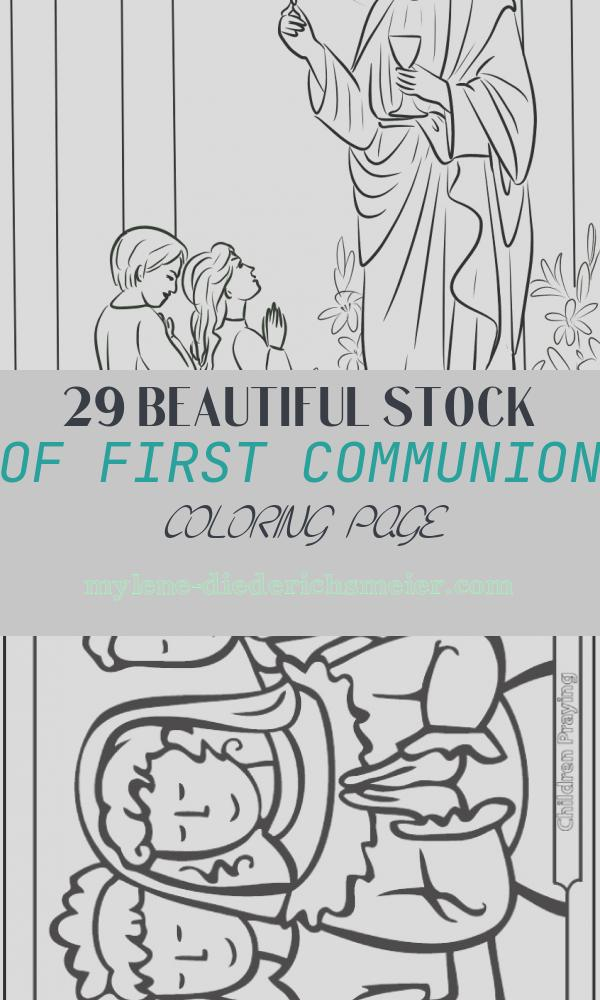 First Communion Coloring Page Awesome Boy and Girl First Munion Coloring Page