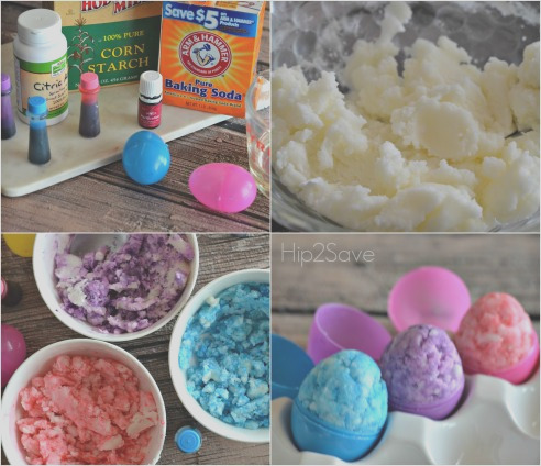 homemade easter egg shaped bath s