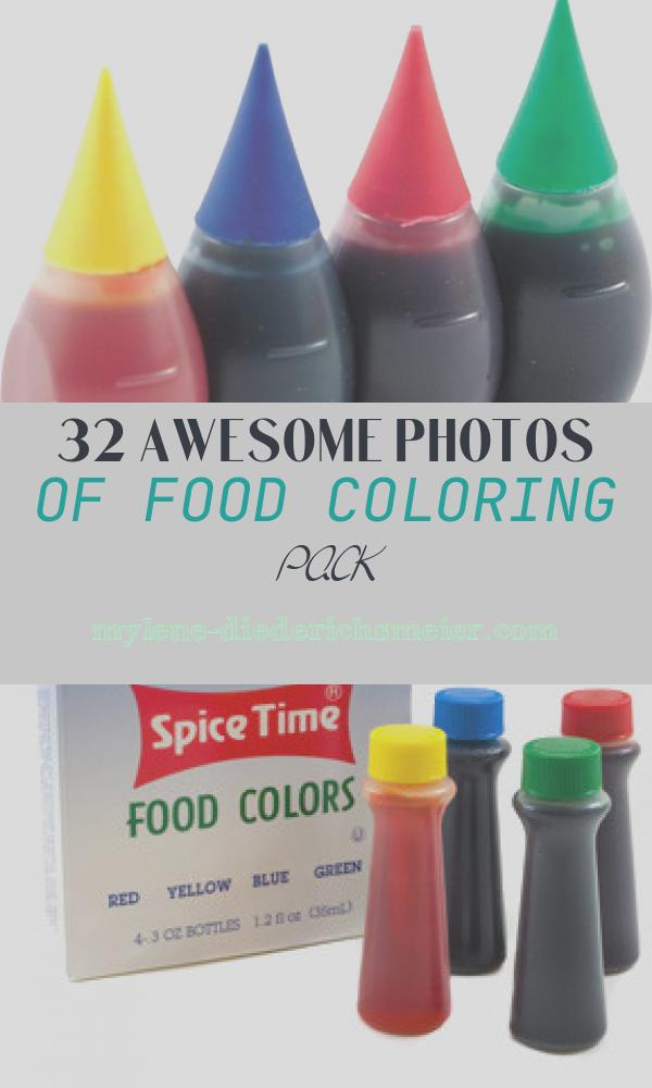 Food Coloring Pack New Food Dyes and the Consequences