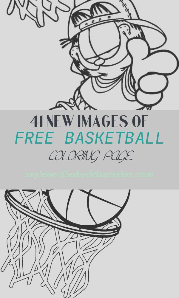 Free Basketball Coloring Page Awesome 30 Free Printable Basketball Coloring Pages