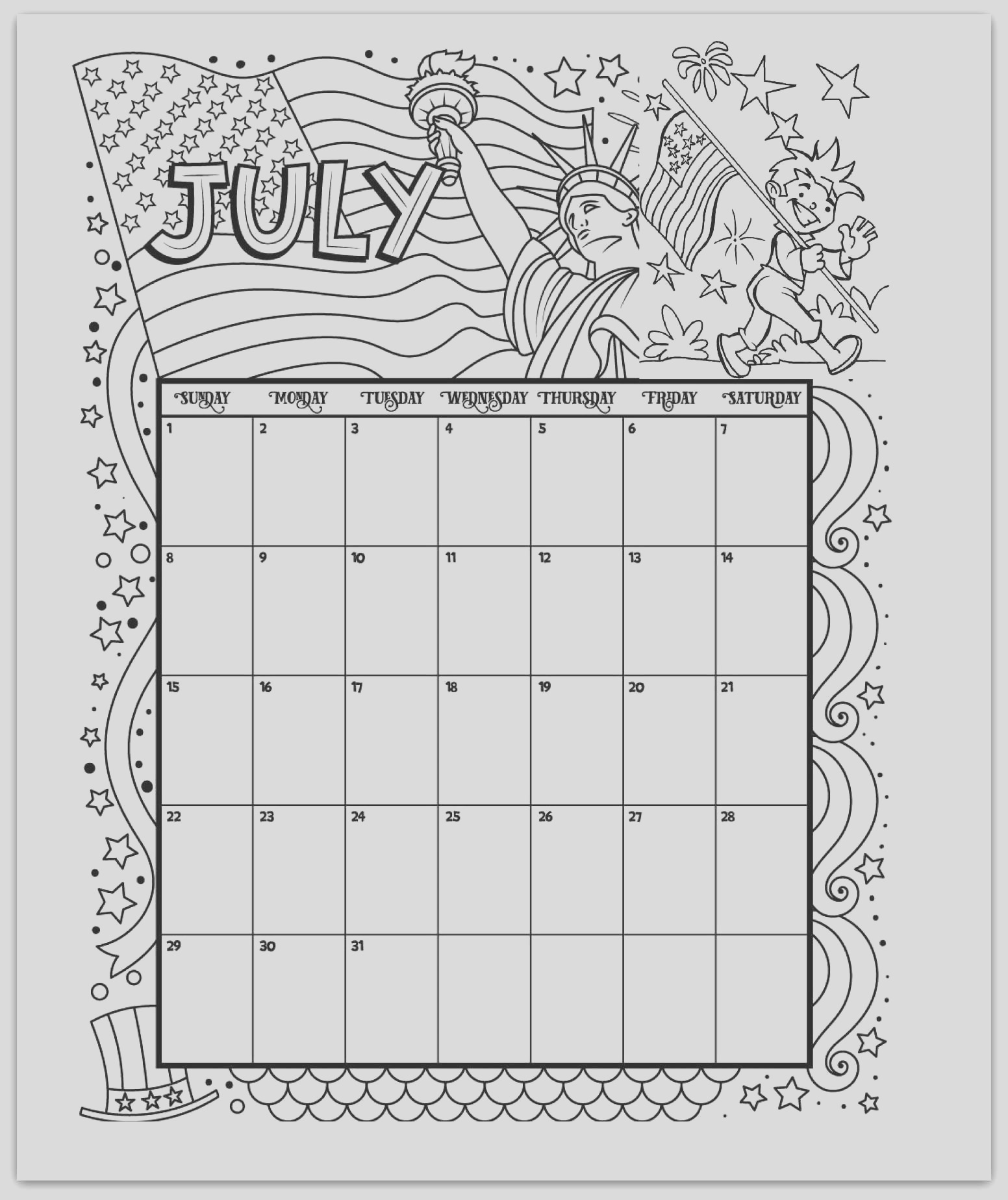 2019 coloring pages printable kids