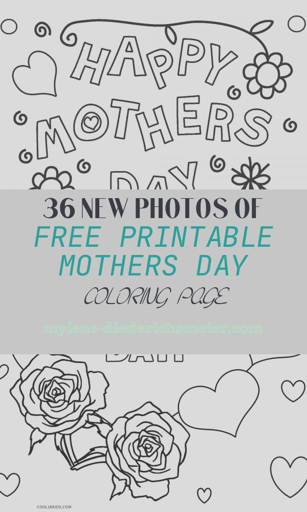 Free Printable Mothers Day Coloring Page Beautiful Free Printable Mothers Day Coloring Pages for Kids
